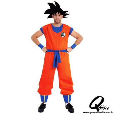 Fantasia Goku Adulto - Dragon ball Z