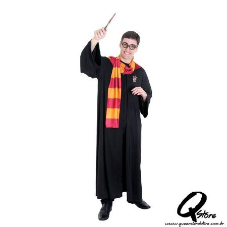 Fantasia Harry Potter Grifinória Adulto - Harry Potter