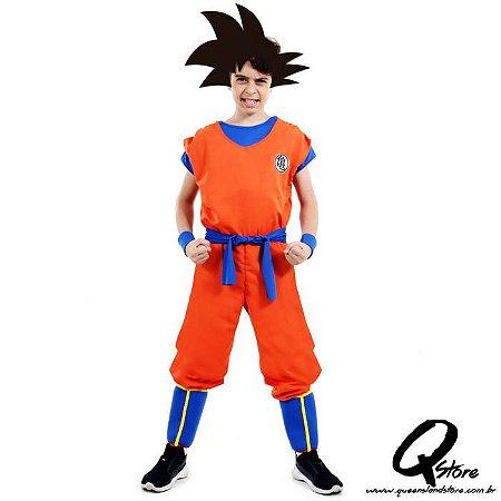 Fantasia Goku Infantil - Dragon Ball Z