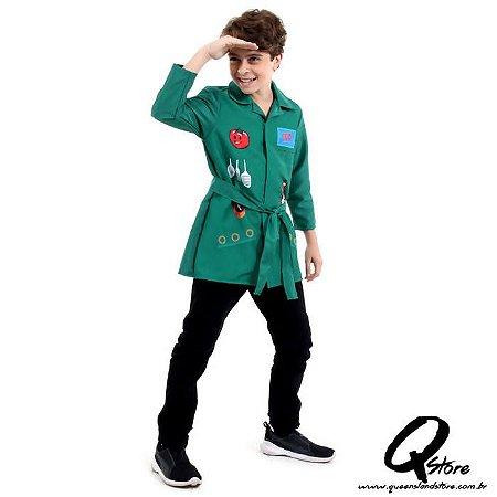 Fantasia DPA Infantil Verde Pop - Pippo