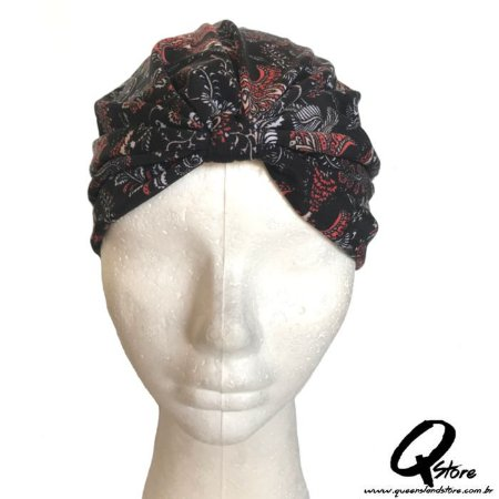Turbante Liso Estampando - Modelo 6
