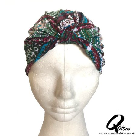 Turbante Liso Estampando - Modelo 13