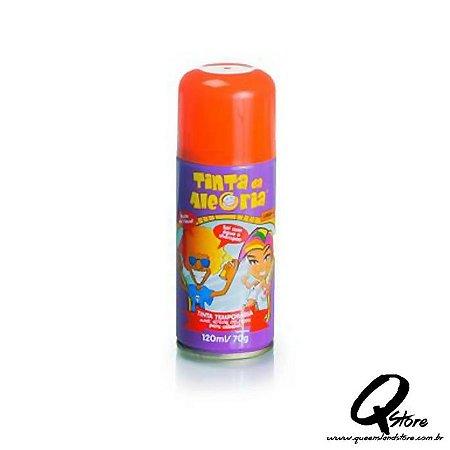 Tinta Spray Colorida para Cabelo - Laranja