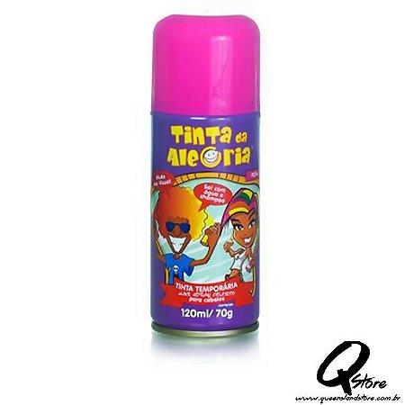 Tinta Spray Colorida para Cabelo - Pink