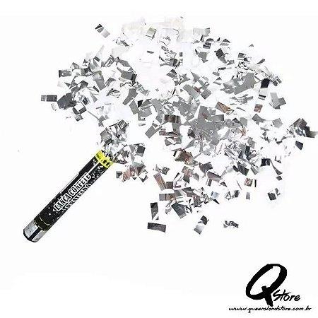 Lança Confete Prata