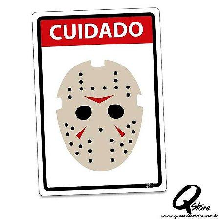 Placa Decorativa 24x16 Cuidado Assassino