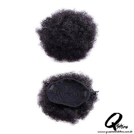 Coque Puff Afro Sintético - Cor 1