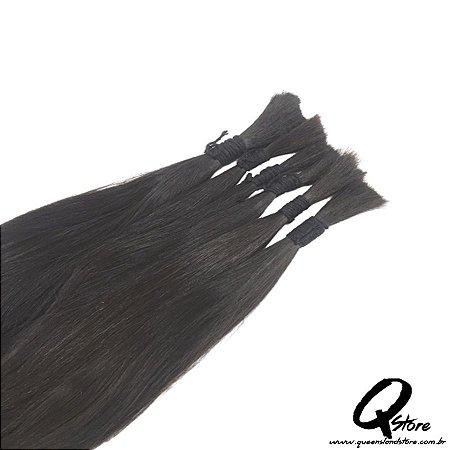 Cabelo Natural Brasileiro Liso 30 cm - 100 Gr