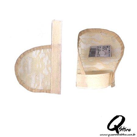 Tela c/ Velcro para Rabo de Cavalo- Bege