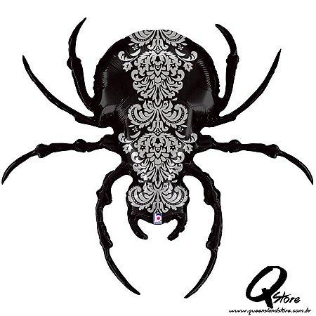 "Balão Metalizado Pretty Scary Spider - Grabo Intl. - 47"" (Aprox. 119 cm)"
