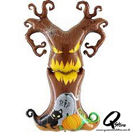Balão Metalizado Scary Tree - Grabo Intl - 5' (154 cm)