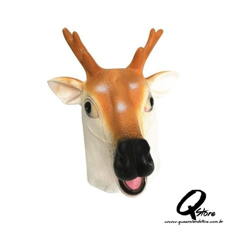 Máscara De Veado Cervo Cabeça Animal