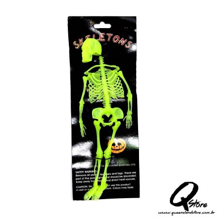 Esqueleto Borracha -Verde