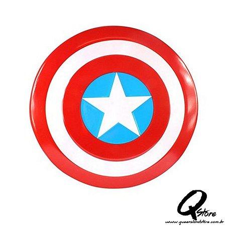 Escudo Capitão America Simples- Plástico