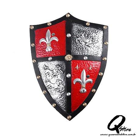 Escudo Medieval Luxo- Borracha