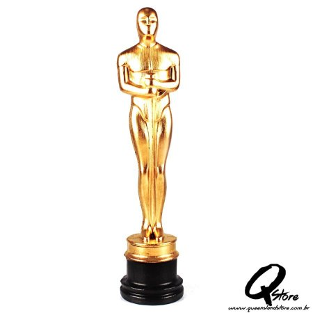 Troféu Estatueta do Oscar de Plástico 34cm