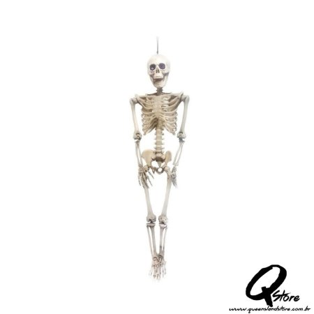 Esqueleto Humano de Plástico - 96 Cm