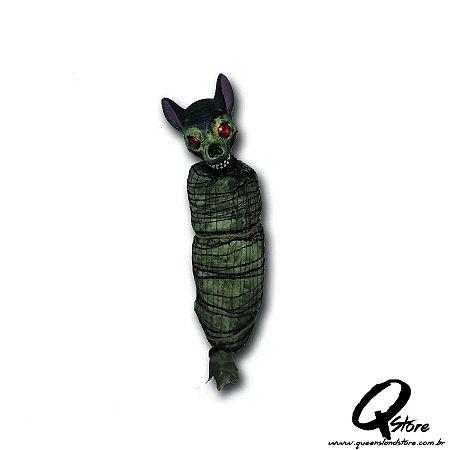 Monstro Pendurado com Luz e Som Para o Halloween 95cm x 26cm