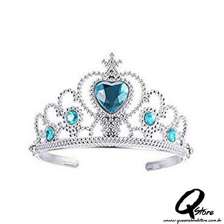 Tiara Arco Princesa -Azul
