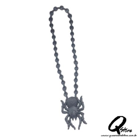 Colar Halloween Aranha - Borracha
