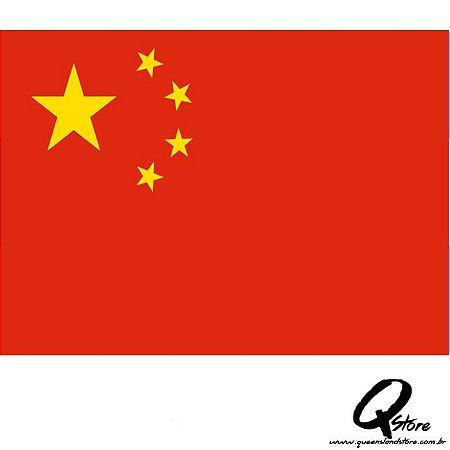 Bandeira Simples - China