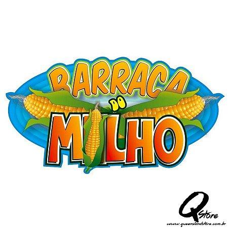 Plaquinha Barraca do Milho - Festa Junina
