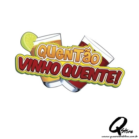Plaquinha Vinho Quente e  Quentão  - Festa Junina