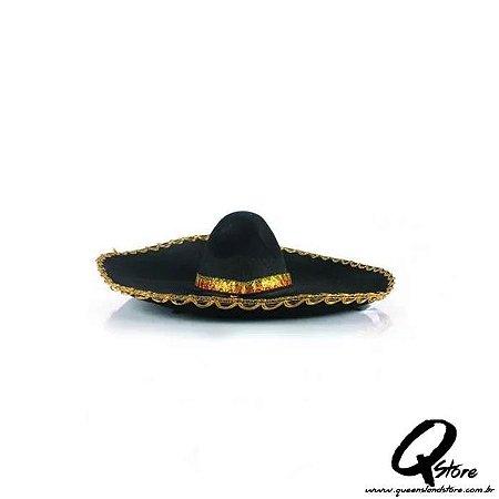 Chapéu Mexicano - Dourado
