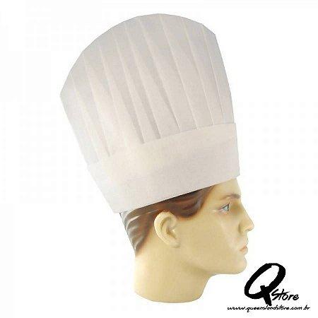 Chapéu Chefe de Cozinha Simples - Infantil