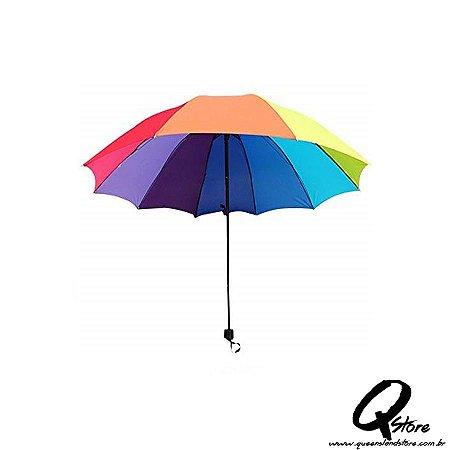 Guarda Chuva Colorido 10 varetas-72 cm