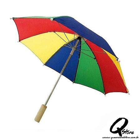 Mini Guarda Chuva Sombrinha Frevo Colorida - Unid