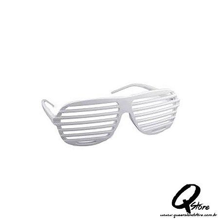 Óculos Persiana Branca- Plástico