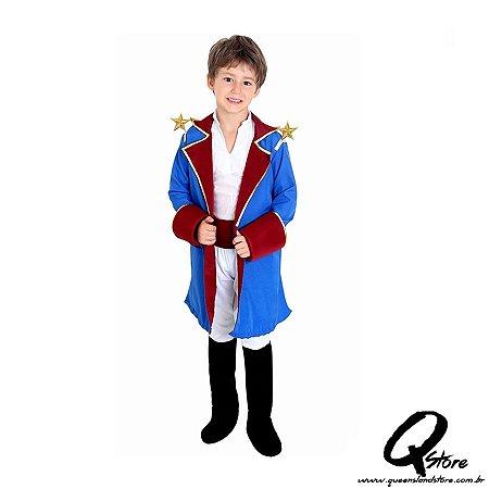 Fantasia Pequeno Príncipe Infantil Completa de Luxo