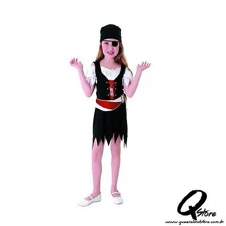 Fantasia Pirata Vestido - P