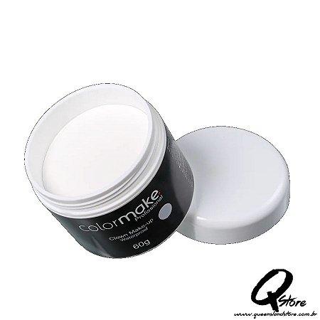 Colormake Clown Makeup Branco - Tinta Cremosa 60g