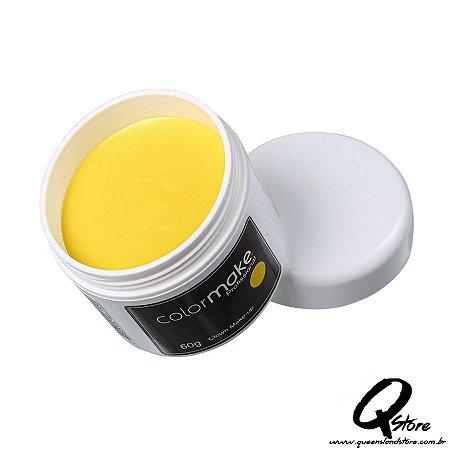 Colormake Clown Makeup Amarelo - Tinta Cremosa 60g