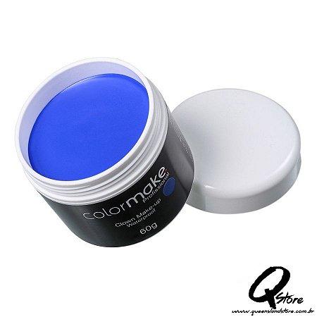 Colormake Clown Makeup Azul - Tinta Cremosa 60g
