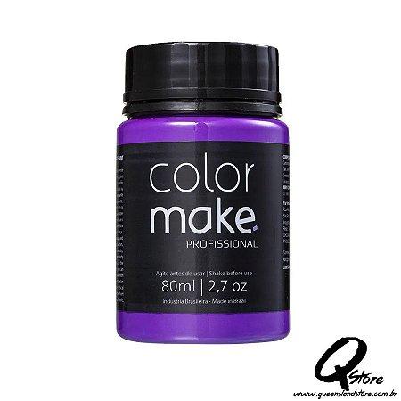 Tinta Facial Líquida ColorMake Profissional Roxo 80ml