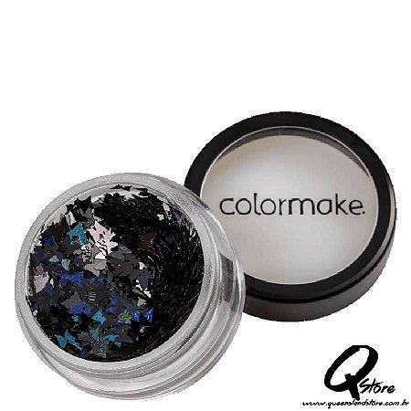 Glitter Colormake Shine Formatos - Borboleta Preta