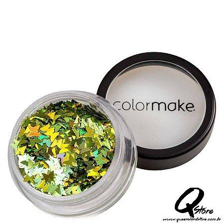 Glitter Colormake Shine Formatos - Borboleta Verde