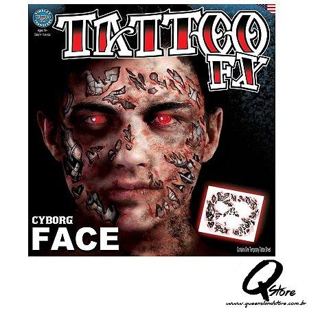 Tattoo Fx - Rosto Cyborg