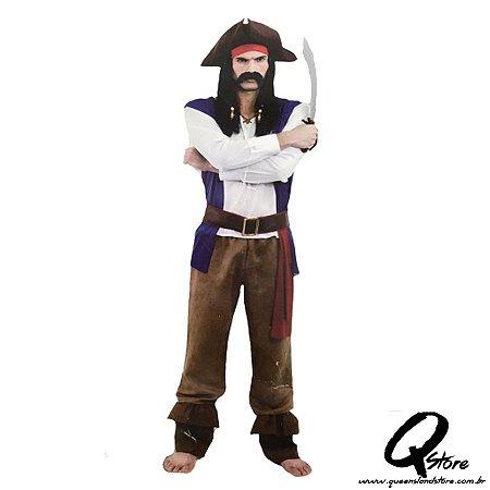 Fantasia Pirata  - Tamanho Único
