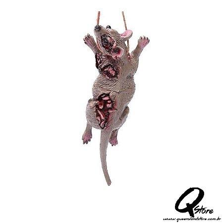 Colar Halloween- Rato