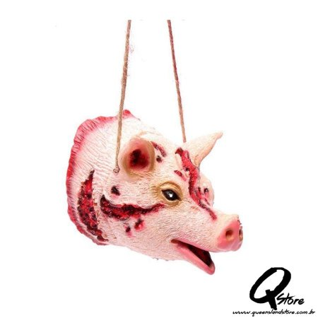 Colar Halloween- Porco