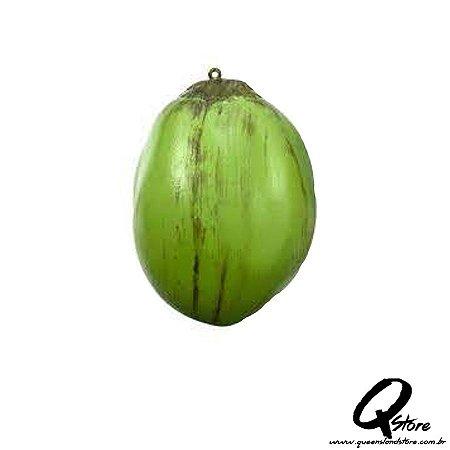 Coco Verde Decorativo - Plástico