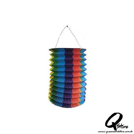 Lanterna de Papel  s/ Luz - Colorido