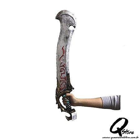 Espada Samurai Cosplay Luxo Borracha  - Unidade