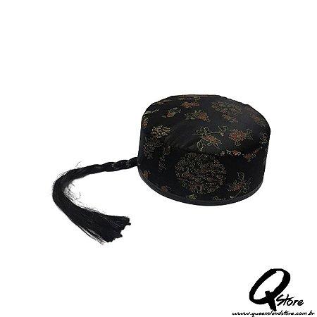 Chapéu Chinês c/ trança Bordado - Unidade