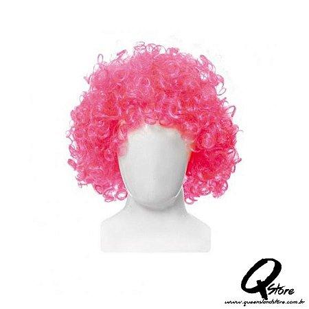 Peruca Black Power - Pink
