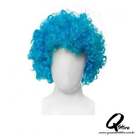 Peruca Black Power - Azul Claro